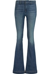 Rag And Bone High Rise Flared Jeans Blue