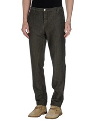 Shaft Casual Pants Dark Green