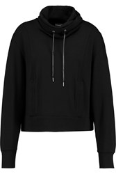 Helmut Lang Stretch Jersey Sweatshirt Black