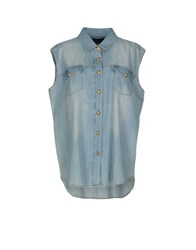 Supertrash Denim Shirts Blue