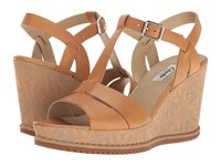 Clarks Adesha River Tan Leather Women's Sandals