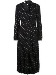 Equipment Fitted Dotted Midi Dress 60