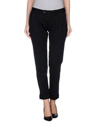 Paolo Pecora Trousers Casual Trousers Women Black