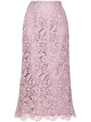 Cityshop Lace Skirt Pink And Purple