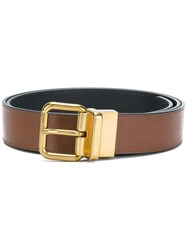 Coach Cut To Size Reversible Belt Brown