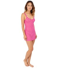 B.Tempt'd Lace Kiss Chemise Rose Violet Women's Pajama Purple
