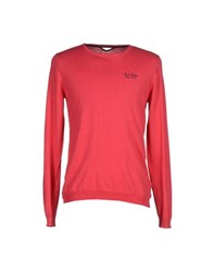 Fred Mello Knitwear Jumpers Men Coral