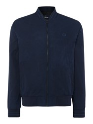 Fred Perry Men's Tramline Bomber Jacket Midnight