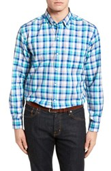 Cutter And Buck 'S Dylan Easy Care Plaid Sport Shirt Bolt