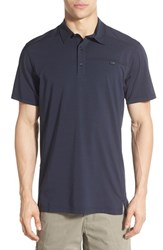 Men's Arc'teryx 'Captive' Relaxed Fit Drytech Polo Admiral