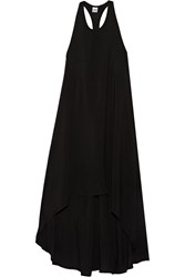 Oak Lifter Voile Dress Black