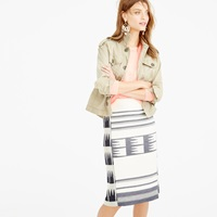J.Crew Collection Blanket Pencil Skirt