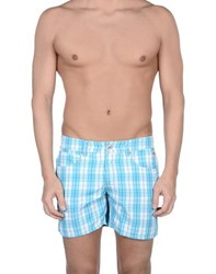Roy Rogers Roy Roger's Swimwear Swimming Trunks Men Turquoise
