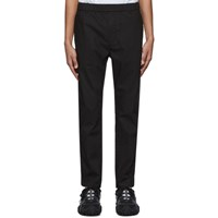 Robert Geller Black The Dyed Trousers