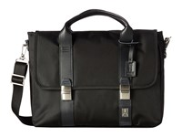Travelpro Executive Choice Messenger Brief Black Messenger Bags