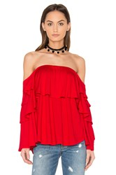 Vava By Joy Han Adonia Top Red