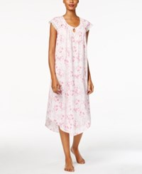 Charter Club Floral Print Knit Nightgown Only At Macy's Flower Garden