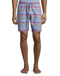 Hanro Evan Striped Drawstring Shorts Multicolor