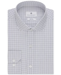 Ryan Seacrest Distinction Non Iron Slim Fit Multi Tattersall Dress Shirt