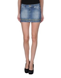 Hollywood Milano Denim Skirts Blue