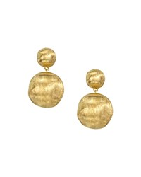 Marco Bicego Africa Collection 18K Yellow Gold Bead Drop Earrings