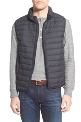 Nordstrom Packable Quilted Down Vest Black