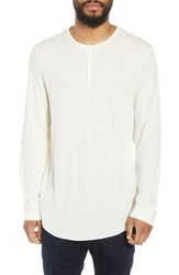 The Rail Longline Thermal Henley Ivory Papyrus