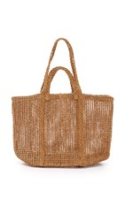 Madewell Straw Beach Tote Natural