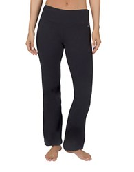 Jockey Petite Slim Bootleg Pants Deep Black