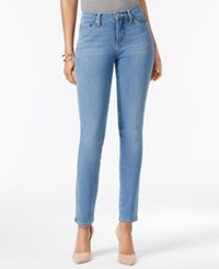 Lee Platinum 360 Defy Stretch Skinny Jeans Created For Macy's Inspire Blue