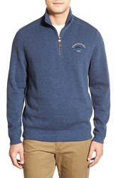 Tommy Bahama Men's 'Classic Aruba' Original Fit Half Zip Sweater Great Sea Heather