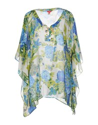 Altea Shirts Kaftans Women Acid Green