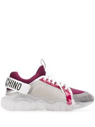 Moschino Teddy Run Sneakers Red