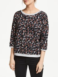 Numph Brighed Sweatshirt Plum