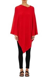 Tomas Maier Women's Cashmere Poncho Red