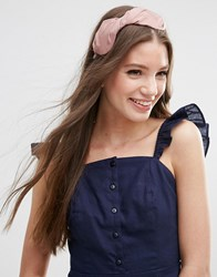 Asos Limited Edition Basic Soft Wrap Hairband Pink