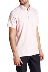 Tailorbyrd Button Down Collar Classic Polo Pink