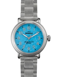Runwell Coin Edge Watch With Bracelet Strap 38Mm Shinola