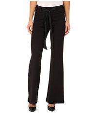 Jag Jeans Cece Palazzo Wide Leg In Double Knit Ponte In Black Black Women's Casual Pants