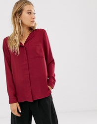 Selected Long Sleeve Shirt Red