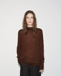 Pas De Calais Pullover Knit Brown