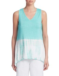 Context Two Toned Tie Dye Tank Belle Lagoon