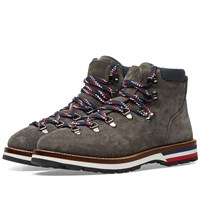 Moncler Peak Nubuck Hiking Boot Grey