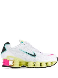 Nike Shox Lace Up Sneakers White