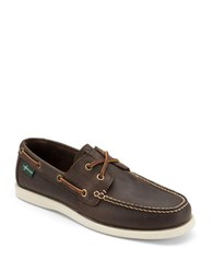 Eastland Kittery 1955 Leather Boat Shoes Brown