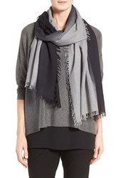 Eileen Fisher Women's Ombre Wool Blend Scarf