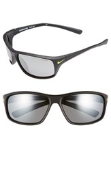 Men's Nike 'Adrenaline' 64Mm Sunglasses Matte Black