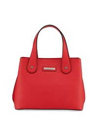 Charles Jourdan Structured Weber Leather Tote Bag