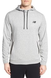 New Balance 247 Sport Pullover Hoodie Athletic Grey