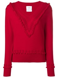 Barrie Cashmere Sweater Red